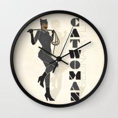 Catwoman Wall Clock