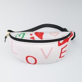 e-love note Fanny Pack