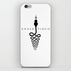 Snakeflouis iPhone & iPod Skin