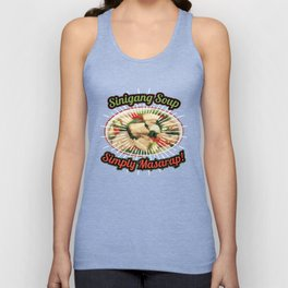 Vintage Funny Sinigang Soup Gift for Filipino Food Lovers. Unisex Tank Top