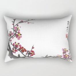 Plum Blossom One Rectangular Pillow