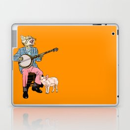 The Cat and the Banjo Laptop & iPad Skin