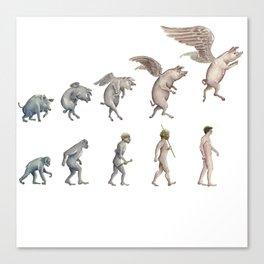 Darwin's Inspiration Canvas Print
