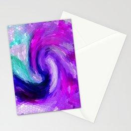 lilic swirl Stationery Cards