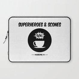 Superheroes and Scones Laptop Sleeve