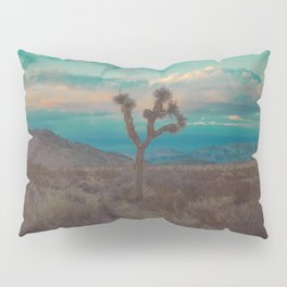 Joshua Tree Aqua Sunset Pillow Sham