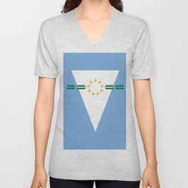 flag of Formosa (argentina) Unisex V-Neck