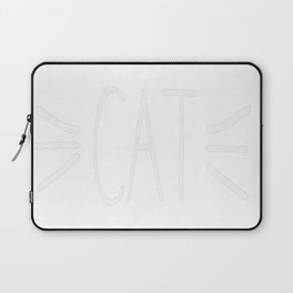 Future Cat Lady Whiskers Laptop Sleeve