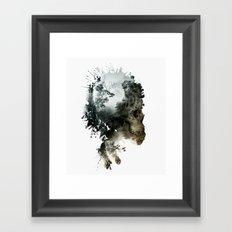 Skull - Metamorphosis Framed Art Print