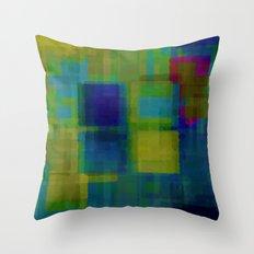 Digital#3 Throw Pillow