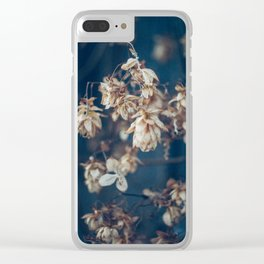 hops pattern Clear iPhone Case