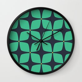 Jasmine Blue Wall Clock