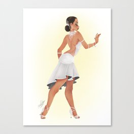 RUMBA DANCER Canvas Print