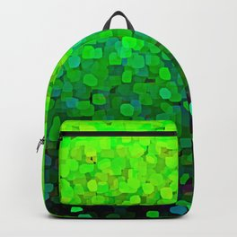 Glitter Sparkles Green Backpack