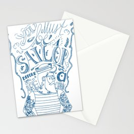 Hipster Sailor Stationery Cards