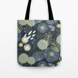 Wedding Season M+M Navy by Friztin Tote Bag
