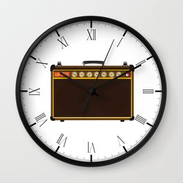 Power Amp Wall Clock