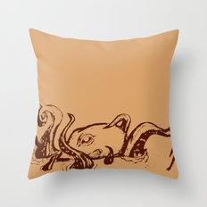 Shipwrecked  Throw Pillow