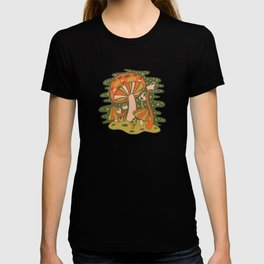 Forest of Mushrooms T-shirt