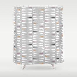 Direction, Grey Shower Curtain
