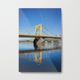 Sixth Street Bridge- Pittsburgh, Pennsylvania Metal Print