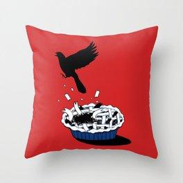 Blackbird Pie  Throw Pillow