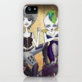 Post-Apocalyptic Heroines iPhone Case