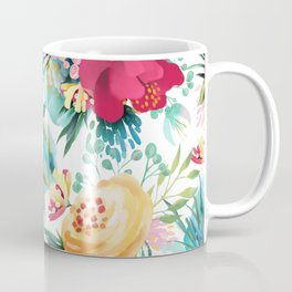 Bright and Bold Flowers Coffee Mug