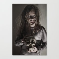 Come, sweet death Canvas Print