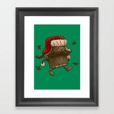 Logstache Framed Art Print
