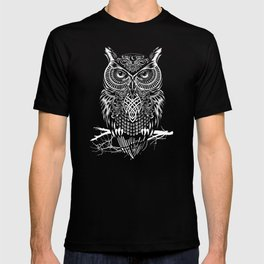 Warrior Owl Night T-shirt