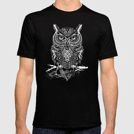 Warrior Owl Night T-shirt