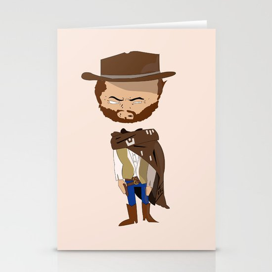 Blondie The Good The Bad and The Ugly Stationery Cards