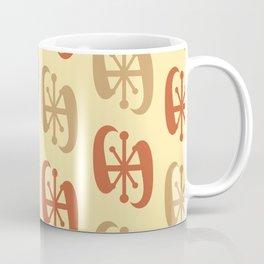 Starburst Bell Peppers Yellow Coffee Mug
