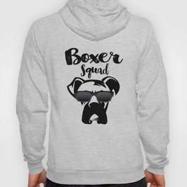 Boxer Squad Cute Boxer Dog Breed Hoody