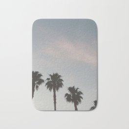 Vegas Palm Trees Bath Mat