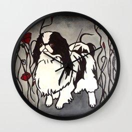 Poppy Chin Wall Clock