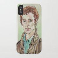 benedict cumberbatch iPhone & iPod Cases featuring Benedict Cumberbatch by Jess P.
