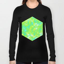 Grunge Art Floral Abstract G170 Long Sleeve T-shirt