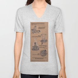 Stoats as Measurement Unisex V-Neck