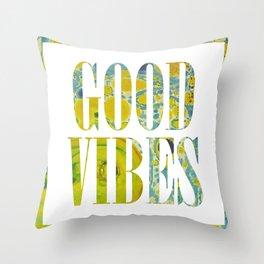 GOODVIBES Throw Pillow
