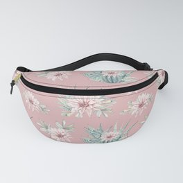 Echeveria Garden Roses Coral Rose Pink Fanny Pack