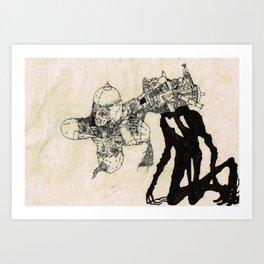 The Specter of Boredom Art Print