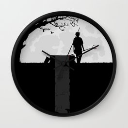 Dumped Wall Clock