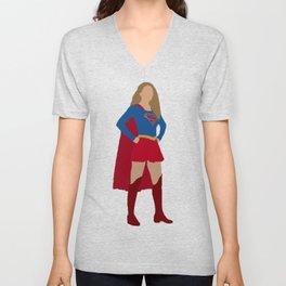 I am Supergirl Unisex V-Neck