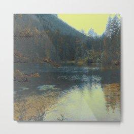 Lake III Metal Print
