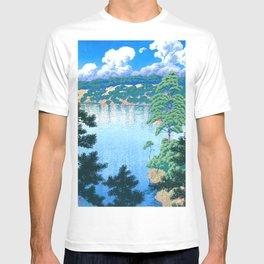Karasu Marsh, Akita by Hasui Kawase T-shirt