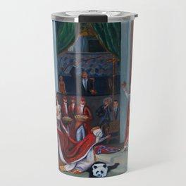The Coronation of Donald Trump Travel Mug