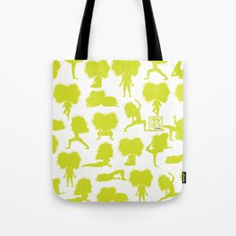 Yoga Style - Green Tote Bag