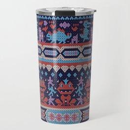 serbian history told through cross-stitch Travel Mug